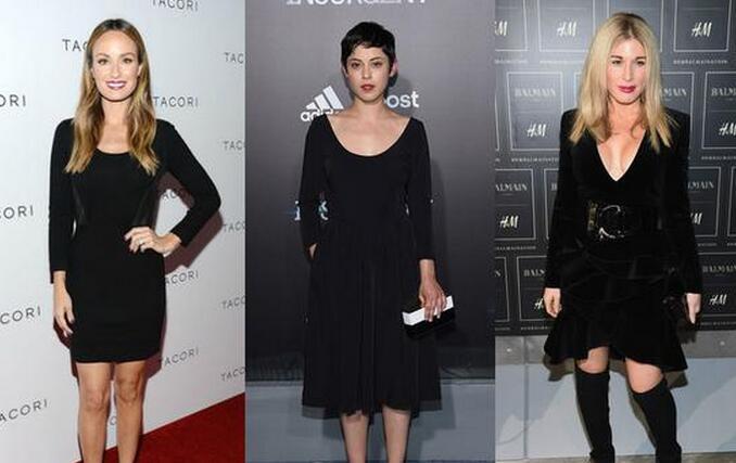 女星示范小黑裙 为什么你穿不赢她们 - 嘉人marieclaire - 嘉人中文网 官方博客