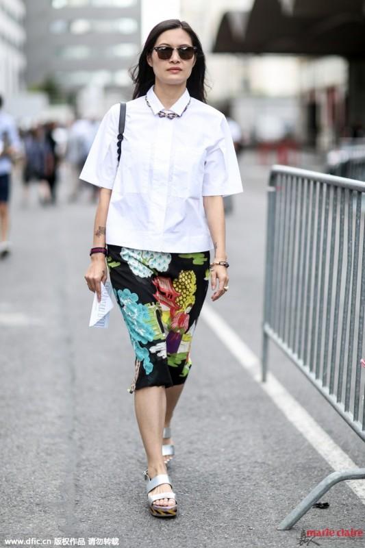 """拒做""""透明人"""" 其实白色上衣的正确打开方式有很多 - 嘉人marieclaire - 嘉人中文网 官方博客"""