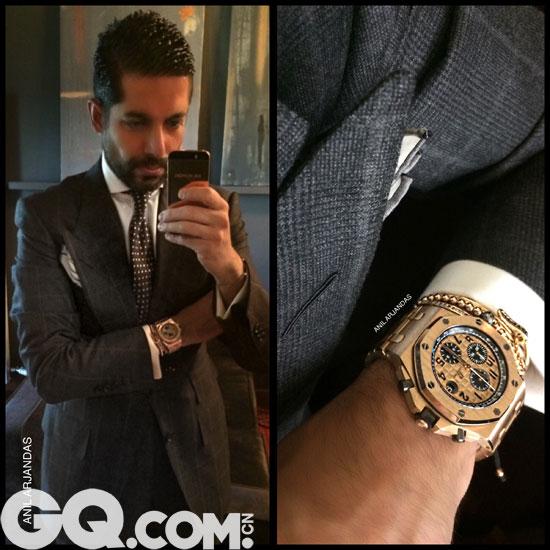 独家 Instagram大咖级腕表爱好者的搭配分享 - GQ智族 - GQ男性网官方博客