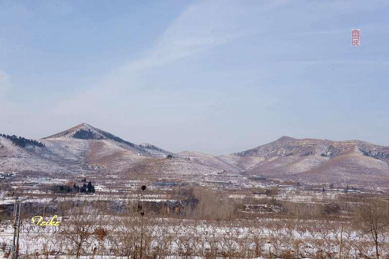 春节影记3——公路记景 - 古藤新枝 - 古藤的博客