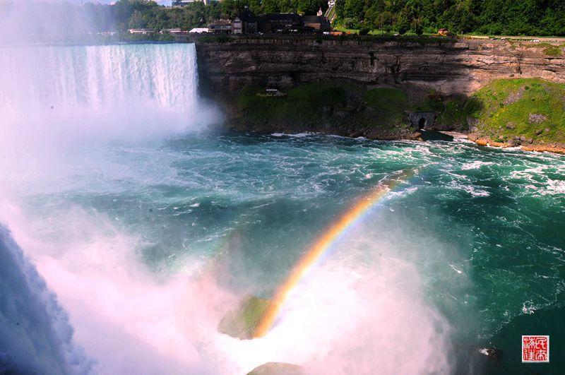 美国散记:彩虹相伴亲近尼亚加拉大瀑布 - 海军航空兵 - 海军航空兵