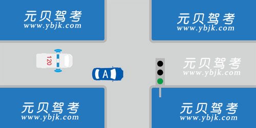 如图所示,当A车后方有执行任务的救护车驶来时以下做法正确的是什么?A、不必理会,继续行驶B、靠右减速让路C、向左转弯让路D、立即停车让路答案是B