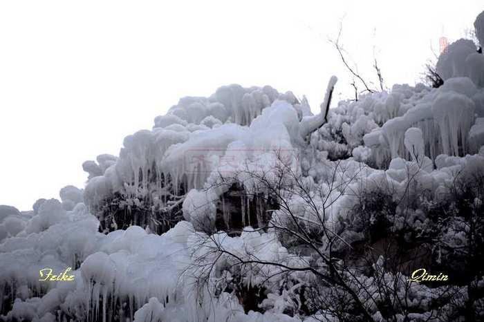 【原创影记】北李赏冰挂2 - 古藤新枝 - 古藤的博客