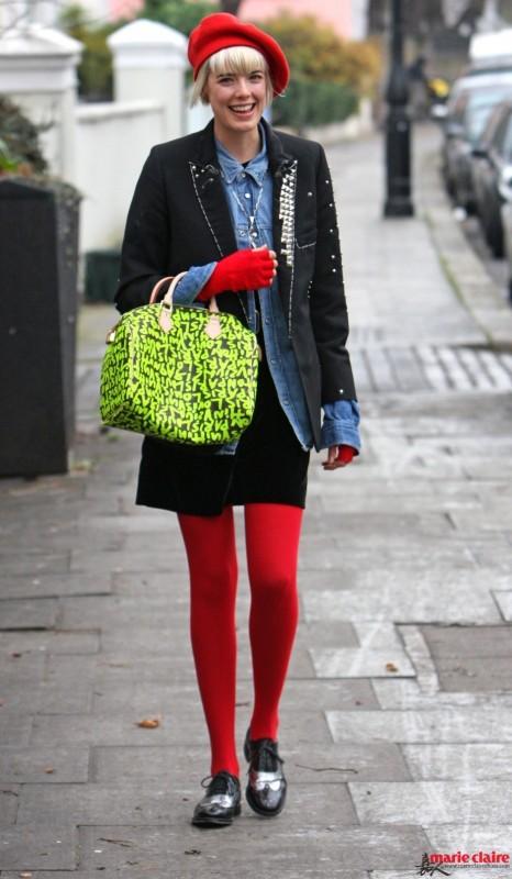 圣诞季就要high fashion 潮人们都穿红配绿准备要你好看了 - 嘉人marieclaire - 嘉人中文网 官方博客