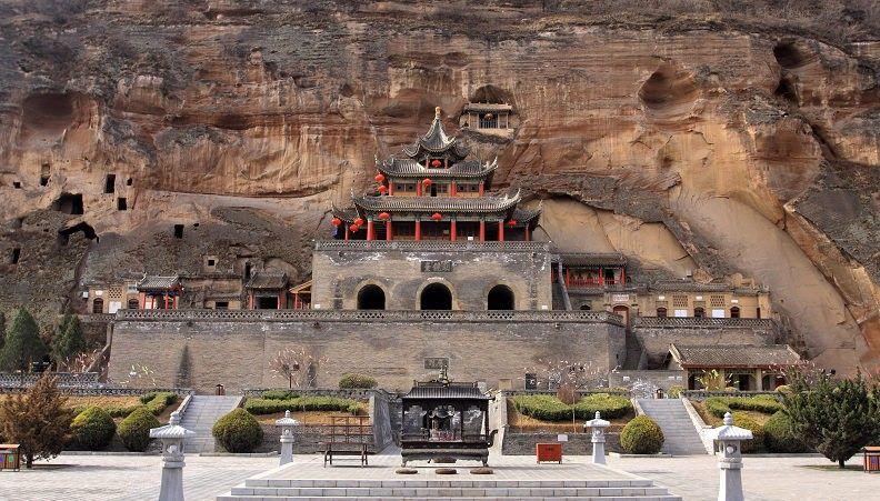 探寻丝路古迹·兴教寺与大佛寺石窟 - 古藤新枝 - 古藤的博客