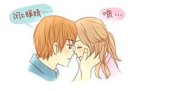 微信头像 卡通亲吻