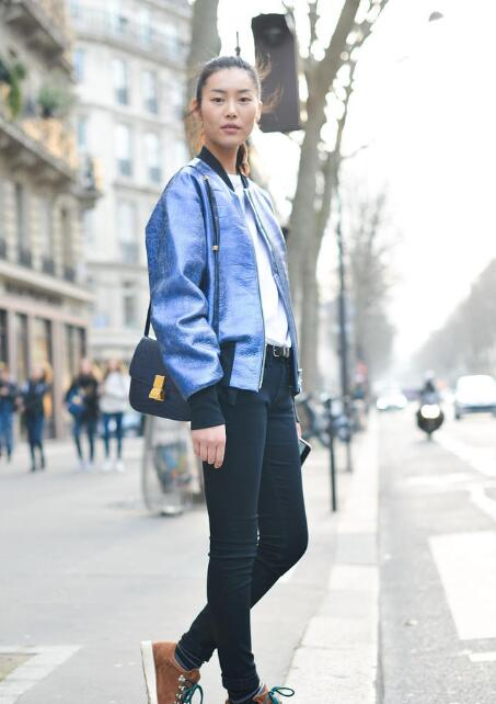 刘雯获2015最佳街拍超模 跟着表姐永远穿不错 - 嘉人marieclaire - 嘉人中文网 官方博客