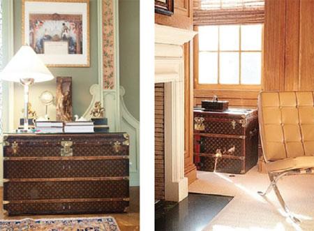 甜言蜜语:手袋之外的路易威登(三)随身携带的衣帽间:古董衣柜