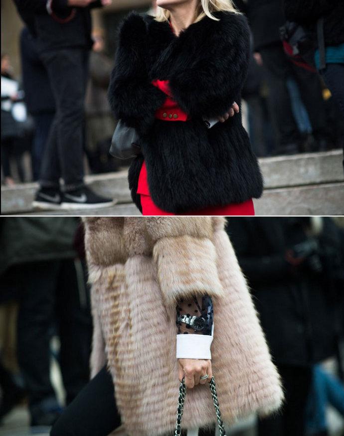 【雌和尚时尚手记】2014纽约时尚周秀场内外-人造皮草大革命 - toni雌和尚 - toni 雌和尚的时尚经