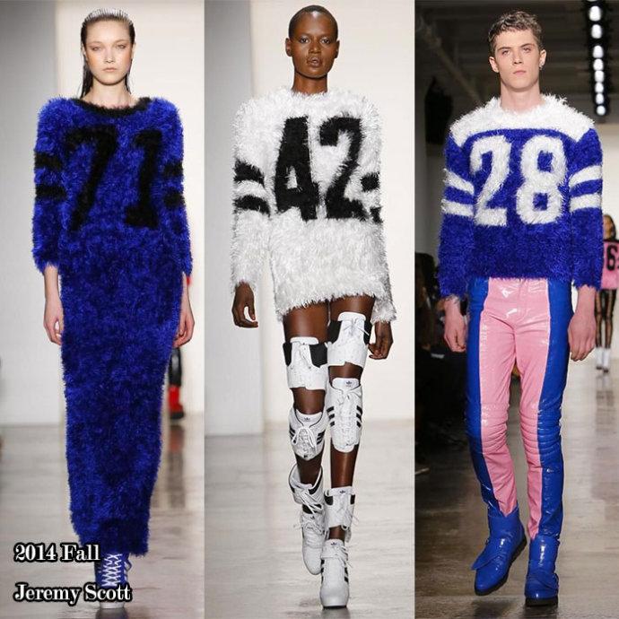 【雌和尚时尚手记】2014纽约时装周秀场内外盘点-足下运动风 - toni雌和尚 - toni 雌和尚的时尚经