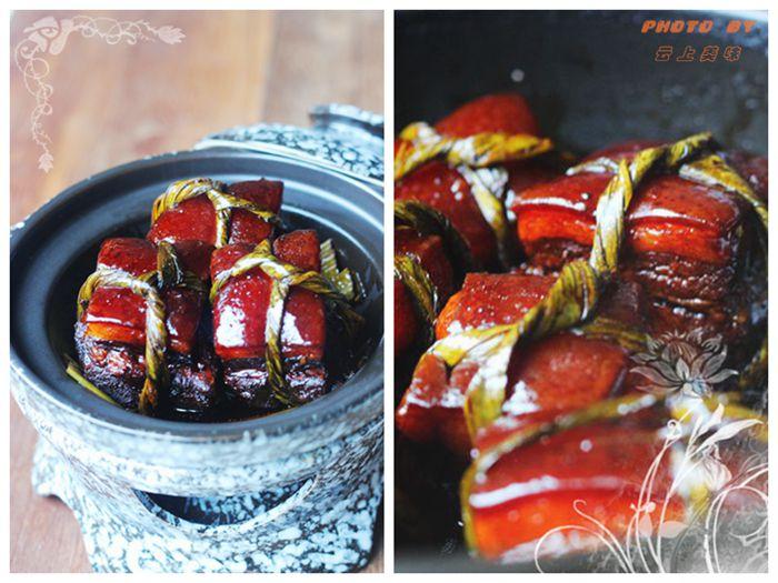 解密舌尖2--浓油赤酱的粽叶扎肉 - 慢美食 - 慢 美 食