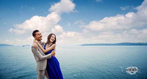海边拍摄婚纱照如何选择时间段