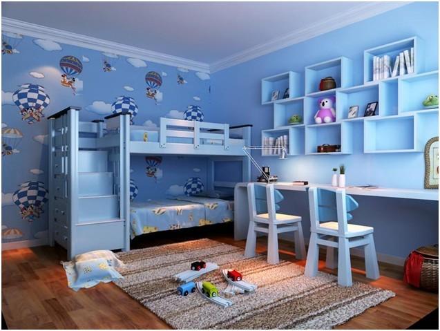 哈尔滨实创装饰推荐筑建童年的城堡--儿童房案例精选