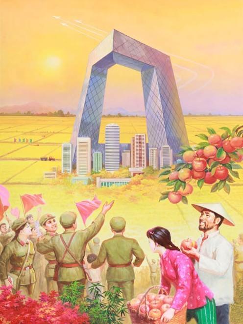 朝鲜画家的北京宣传画逆天了(组图) - 遇果林 - 遇果林-原生态博客