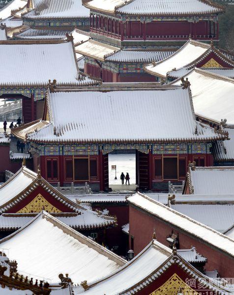 十年京城雪景 - 古藤新枝 - 古藤的博客