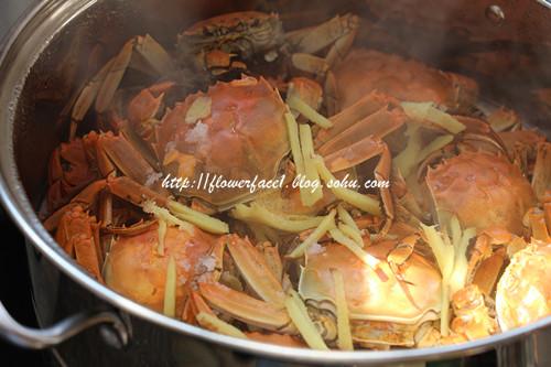 吮指的美味【干蒸螃蟹】 - 海军航空兵 - 海军航空兵