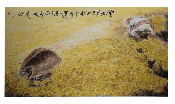 【原创】扈四海画作配诗五首 - lurenlaobao2009 - lurenlaobao2009的博客