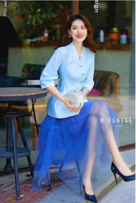 简爱格妮斯轻奢女装 美好心情清爽入夏