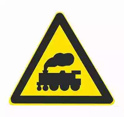 無人看守鐵道路口