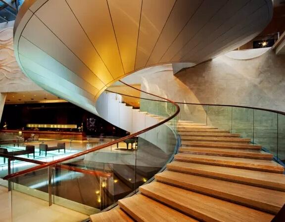 酒店如何提升自己的逼格?楼梯设计图片