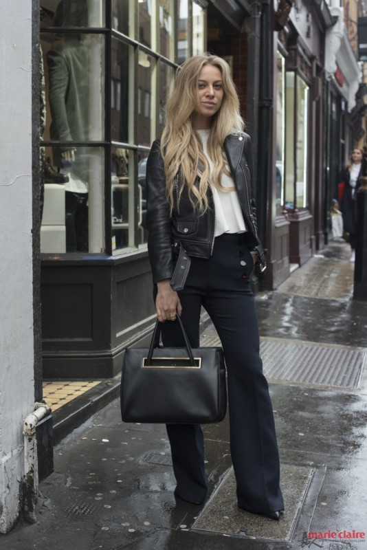 """想瘦还不简单!选对一条黑色裤装分分钟实现你的""""瘦身梦 - 嘉人marieclaire - 嘉人中文网 官方博客"""