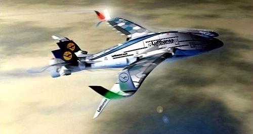 这项计画的飞机概念还包括96公尺大的机翼