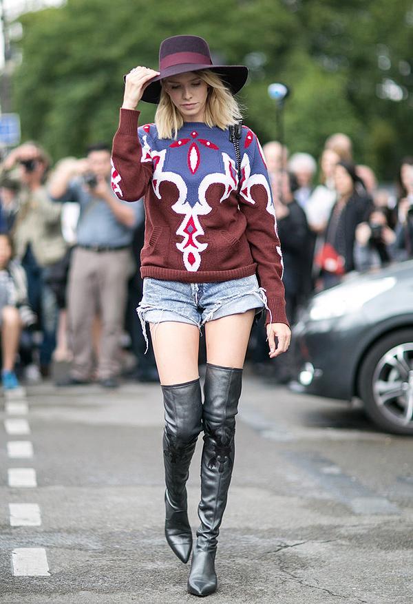 大风吹还要穿短裤 女星示范最时髦换季方案 - 嘉人marieclaire - 嘉人中文网 官方博客