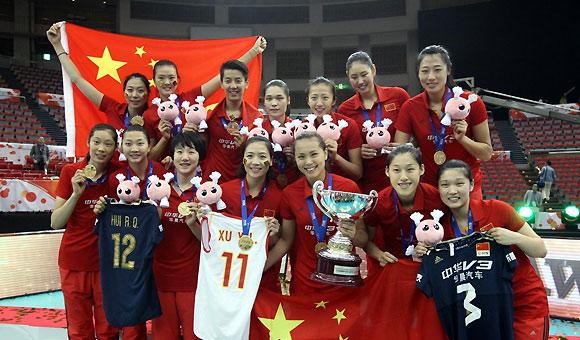 中国女排再夺冠! - 古藤新枝 - 古藤的博客
