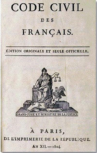 刘植荣:《拿破仑法典》 法国送给人类的礼物 - 刘植荣 - 刘植荣的博客