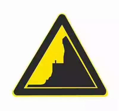 傍山险路标志