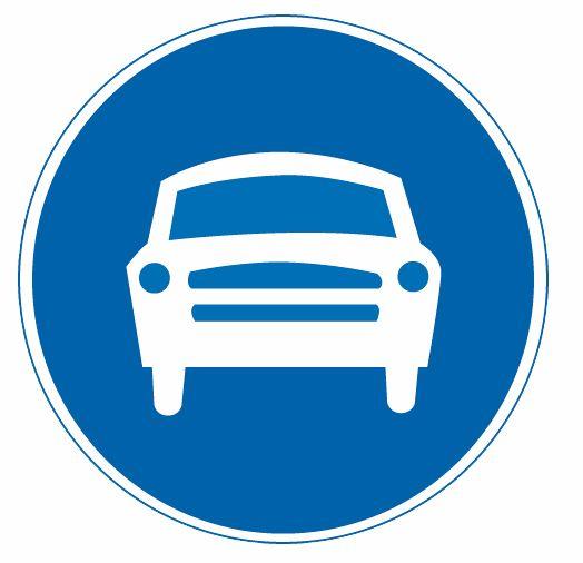 這屬于哪一種標志?A、警告標志B、禁令標志C、指示標志D、指路標志答案是C