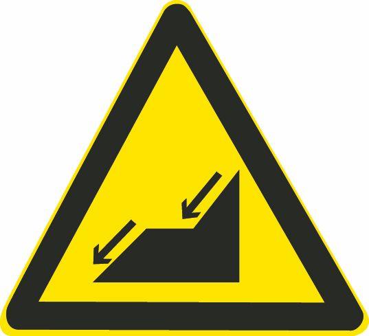这个标志是何含义?A、连续上坡B、上陡坡C、下陡坡D、连续下坡答案是D