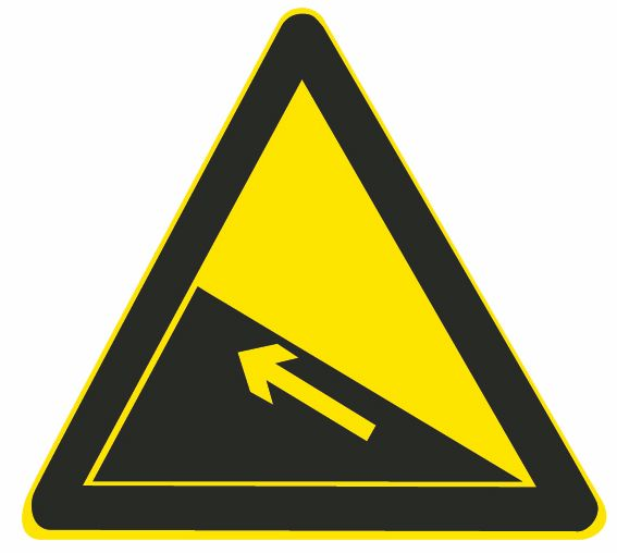 这个标志是何含义?A、堤坝路B、上陡坡C、连续上坡D、下陡坡答案是B