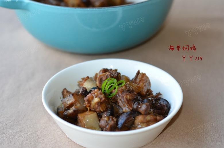 过瘾解馋的肉菜——【海参焖鸡】 - 慢美食 - 慢 美 食