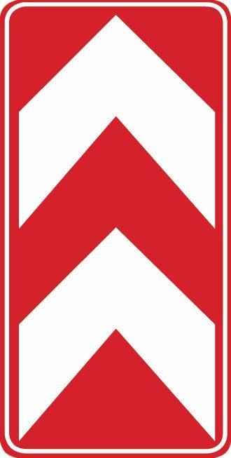 這個標志是何含義?A、左側通行B、右側通行C、兩側通行D、不準通行答案是C