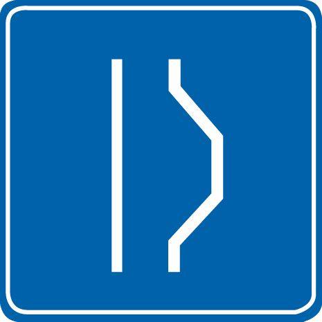 这个标志是何含义?A、紧急停车带B、露天停车场C、停车位D、错车道答案是D