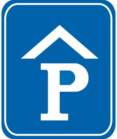 這個標志是何含義?A、專用停車場B、露天停車場C、室內停車場D、內部停車場答案是C