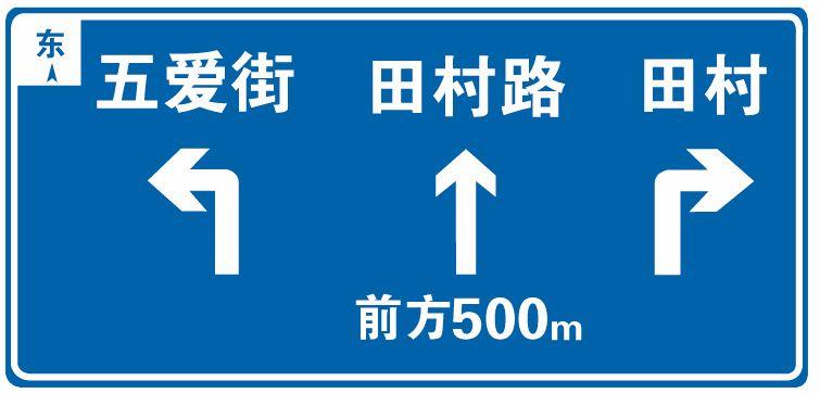這屬于哪一類標志?A、警告標志B、禁令標志C、指示標志D、指路標志答案是D