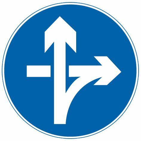 這個標志是何含義?A、直行和左轉彎行駛B、直行和右轉彎行駛C、立體交叉直行和右轉彎行駛D、立體交叉直行和左轉彎行駛答案是C