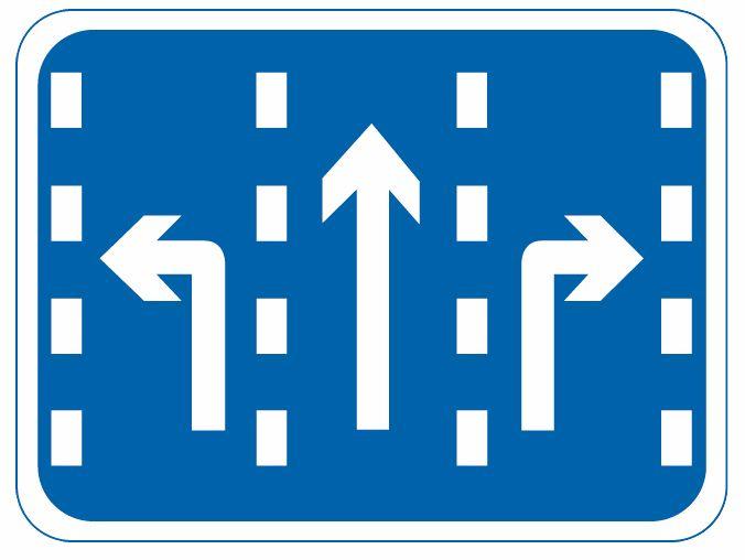 這個標志是何含義?A、直線行駛車道B、左轉行駛車道C、右轉行駛車道D、分向行駛車道答案是D