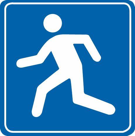 這個標志是何含義?A、橫過道路設施B、應急避難場所C、生活服務區D、行人專用通道答案是B