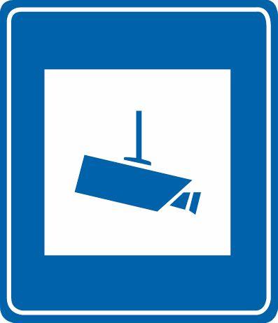 這個標志是何含義?A、減速拍照區B、道路流量監測C、全路段抓拍D、交通監控設備答案是D