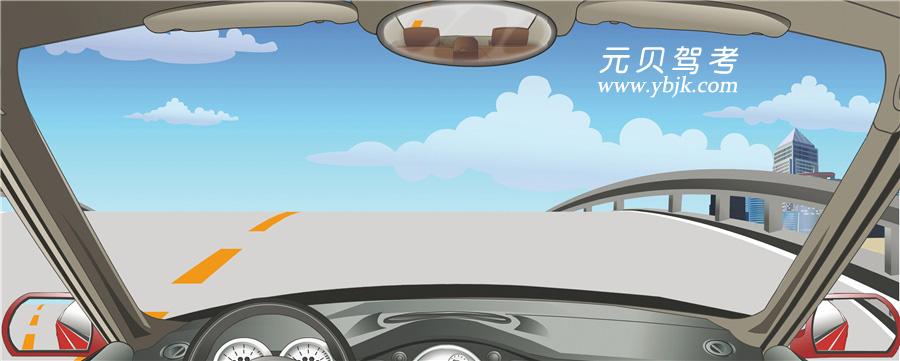 驾驶机动车在这种情况下要加速冲过坡顶。答案是错