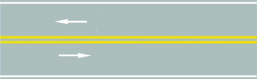 路中心的双黄实线作用是分隔对向交通流,在保证安全的前提下,可越线超车或转弯。答案是错