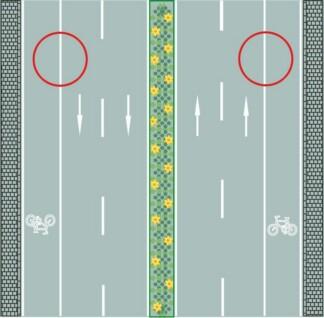 路兩側的車行道邊緣白色實線是什么含義?A、機動車可臨時跨越B、非機動車可臨時跨越C、車輛可臨時跨越D、禁止車輛跨越答案是D