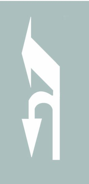 這個導向箭頭是何含義?A、指示前方可直行或向左變道B、指示前方可直行或左轉C、指示前方可直行或掉頭D、指示前方可左轉或掉頭答案是D