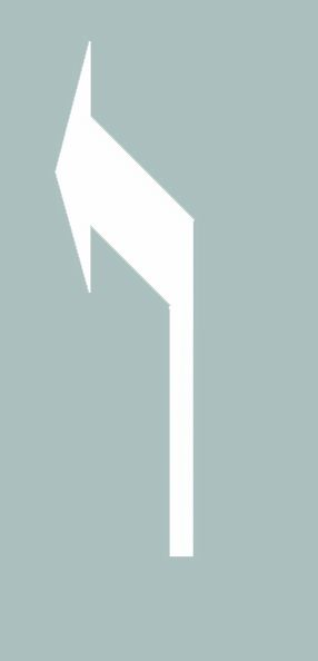 這個導向箭頭是何含義?A、指示前方右轉彎B、指示向左變道C、指示前方直行D、指示前方左轉彎答案是D