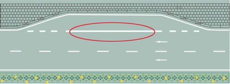 紅色圓圈內標線含義是什么?A、臨時停靠站B、港灣式停靠站C、應急停車帶D、公交車停靠站答案是B