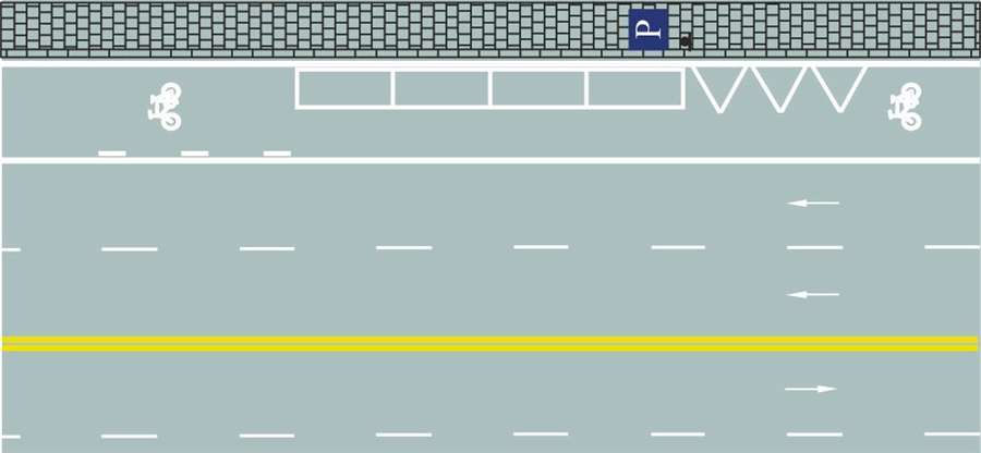 這種白色矩形標線框含義是什么?A、出租車專用上下客停車位B、平行式停車位C、傾斜式停車位D、垂直式停車位答案是B