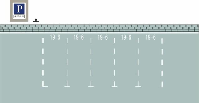 这种白色矩形标线框含义是什么?A、长时停车位B、限时停车位C、专用停车位D、免费停车位答案是B